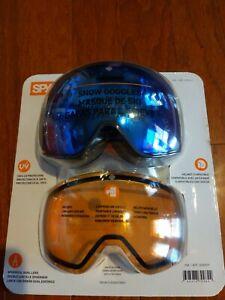 Spy+ Helmet Compatible Underpin Snow Goggles New Condition