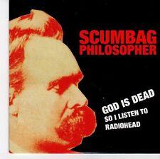 (EQ781) Scumbag Philosopher, God Is Dead So I Listen To Radiohead - 2011 DJ CD