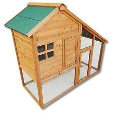 Clapier grand espace XL / Cage à lapin en bois / Cabane pour lapin ou rongeur