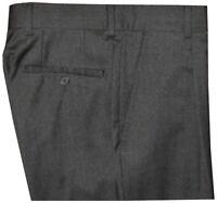 MINT PREOWNED MENS TEEN HUGO BOSS BLACK LABEL CHARCOAL 1 PLEAT DRESS PANTS 30