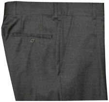 MINT PREOWNED MENS TEEN HUGO BOSS BLACK LABEL CHARCOAL 1 PLEAT DRESS PANTS 30