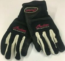 INDIAN MOTORCYCLE MEN'S BLACK DRIFTER MESH GLOVES