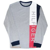 TOMMY HILFIGER Men's Long Sleeve Tee Shirt T Shirt