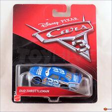Disney Pixar Cars 3 - Dud Throttleman #33 Mood Springs Racer Mattel diecast car