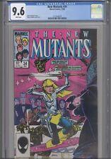 New Mutants #34 CGC 9.6 1985 Marvel Chris Claremont Story Leialoha Art:New Frame