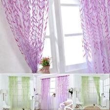 Polyester Modern Valance Window Curtains