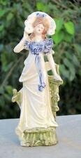 Vintage Old Beautiful English Queen Porcelain Ceramic Figure Statue Germany??