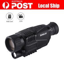 AU! 5x40 ZOOM Monocular Infrared IR Night Vision Camera Video Photo DVR+Free 8GB