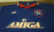 MAGLIA SHIRT VINTAGE '90 UMBRO OFFICIAL CHELSEA FOOTBALL CLUB SIZE L AMIGA