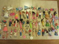 BARBIE DOLL LOT OF 50+ McDONALD'S HAPPY MEAL MINI BARBIES & Other TOYs