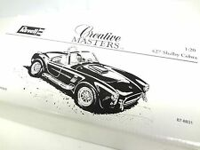 Revell Creative Masters Shelby 427 Cobra Model Car White Box 1:20 scale die cast