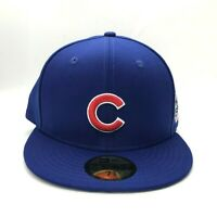 Chicago Cubs World Series 2016 Side Patch 59Fifty Fitted New Era MLB Fitted Cap