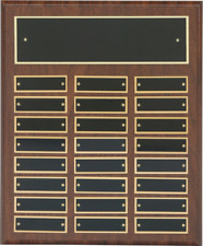 Employee of the Month/Perpetual Plaque 24 Plates FREE Engraving