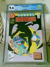 """Batman Annual #11 (1987) CGC 9.6 White Pages  Moore - Byrne """"Penguin - Clayface"""""""