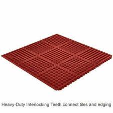 Heavy Duty Floor Mat Anti Fatigue Kitchen drainage easy clean.3' x 3' Locking in