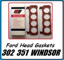 New PAIR Head Gaskets 'Detroit Gskt' Ford V8 260 289 302 347 5.0L 351W 1962-2001