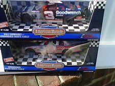 1995 Dale Earnhardt Goodwrench and Silver 1/18 Set. This is for BOTH 1/18 cars!