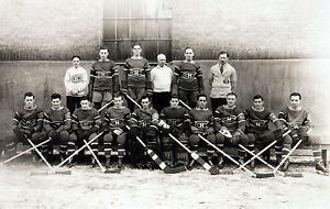 Montreal Canadiens 1937-38, 8x10 B&W Team Photo