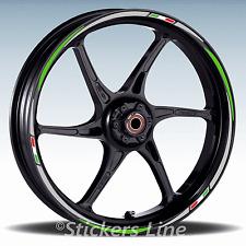 Adesivi ruote moto strisce cerchi per KAWASAKI ZX-10R ZX10R Racing3 stickers