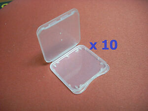 5PCS SD Memory Card Case SDHC Holder Protector Storage Box For SD Cards I0K0