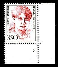 BUND Frauen  350 Pf.** postfrisch, Mi. 1393, Eckrand u.r. Formnummer 3