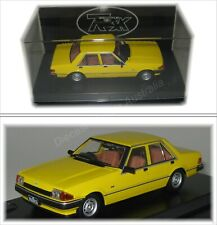 TRAX 1 43 Diecast TR85B 1982 Ford Falcon XE Citrus Yellow GL Sedan