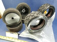 MCD Dished Wheels & On-Road Tires 1:5 MCD FG Monster Buggy Square Hub  (QTY 4)