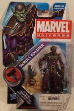 """Marvel Universe 3 3/4"""" Series 9 - #024 Skrull Soldier Variant Skrull Stand (MOC)"""