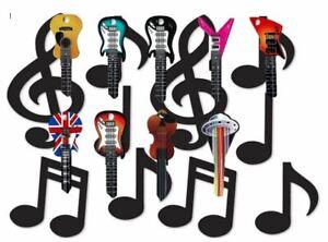Novelty Keys Rockin Key Blanks U6D Guitars Violins Rockin Keys Present Idea NEW