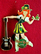 HRC Hard Rock Cafe Barcelona St Patricks Day 2001 Girl LE150