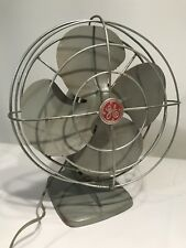 General Electric GE Oscillating Fan Vintage Deco SteamPunk 14x11""