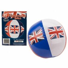"England Union Jack Inflatable 21"" Football Beach Ball Party Garden Football Wor"