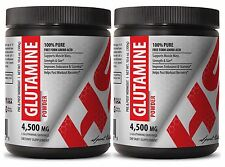 L-Glutamine Organic Powder - GLUTAMINE POWDER 4500mg - Boost Metabolism 2C