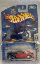 Hot Wheels Bugatti Veyron 2003 First Edition (NIP & R2S)(Red and Black)