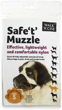 Dog Safety Muzzle Adjustable Biting Barking Chewing Muzzle Large Size 5