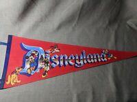 Vintage Disneyland Pennant 30 Inch