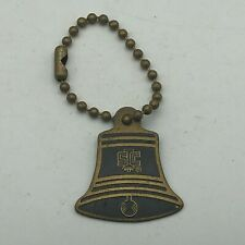 Rare Vintage Schulmerich Carillons Inc. Bell Advertising FOB Keychain    //