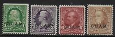 Guam stamps 1899 YV 1+3+6+10 MLH VF