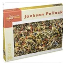 "Pomegranate Artpiece Puzzle ""Convergence"" Jackson Pollock 1000 Piece NEW"