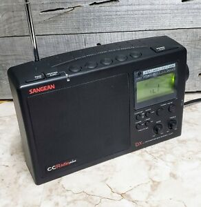 Sangean CC Radio Plus DX AM/FM/TV/WEATHER Band Receiver + Alert V Good Condition