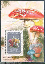 GUINEA 2014 MUSHROOMS  SOUVENIR SHEET MINT NH