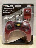 NEW Madcatz The Game PSOne PlayStation Controller Memory Card Combo STARTER KIT