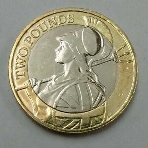 2016 UK £2 Coin Britannia 'Quatuor Maria Vindico' 2 Pound Piece
