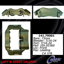 Centric Parts 142.79001 Front Rebuilt Brake Caliper With Brake Pads