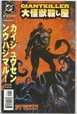 Giantkiller #1 : Vintage DC Comic book : August 1999