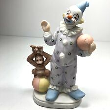 Adorable Vintage 7� ceramic clown figurine Baby Nursery