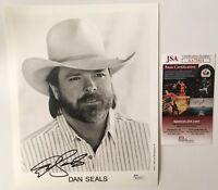 Dan Seals Signed Autographed 8x10 Photo JSA Certified