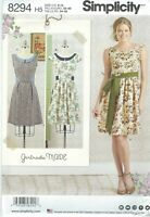 Simplicity  8294 Misses'/Miss Petite Dress and Sash  Sewing Pattern