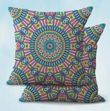 2PCS cheap couch pillowcase mandala eternity unity cushion