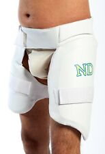 New Cricket Batting Protection Padman Short Stripper Leg Thigh Pads Combo RH MEN
